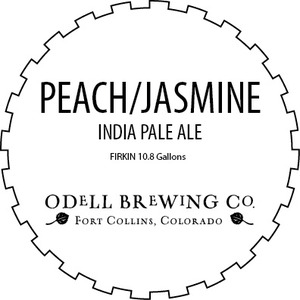 Odell Brewing Company Peach-jasmine IPA