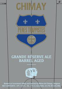 Chimay Grande Reserve Barrel Aged February 2016