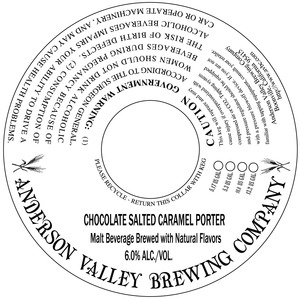 Anderson Valley Brewing Company Chocolate Salted Caramel Porter