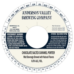 Anderson Valley Brewing Companyaa Chocolate Salted Caramel Porter