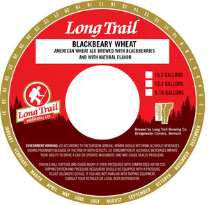 Long Trail Brewing Company Blackbeary Wheat