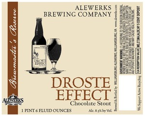 Williamsburg Alewerks Droste Effect