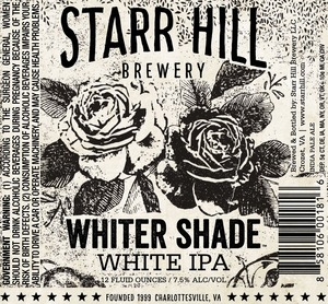 Starr Hill Whiter Shade