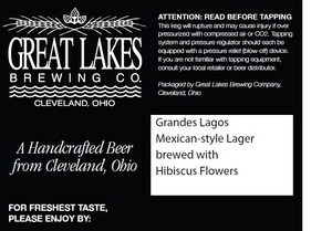 The Great Lakes Brewing Company Grandes Lagos