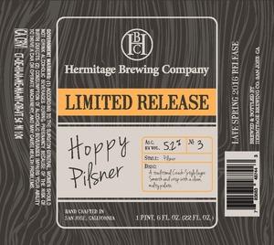 Hermitage Brewing Company Hoppy Pilsner