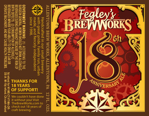Fegley's Brew Works 18th Anniversary
