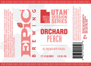 Epic Brewing Company Orchard Peach