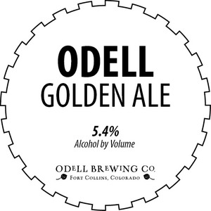 Odell Brewing Company Odell Golden Ale