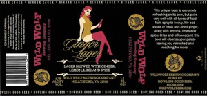 Wild Wolf Brewing Company Ginger Lager