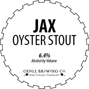 Odell Brewing Company Jax Oyster Stout
