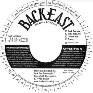 Back East Brewery
