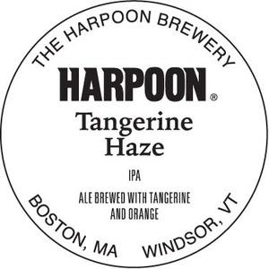 Harpoon Tangerine Haze