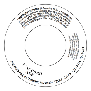 Brewer's Art D'accord