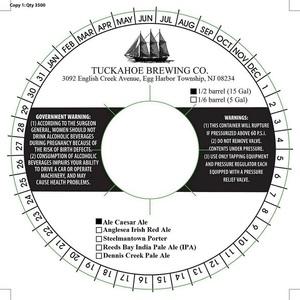 Tuckahoe Brewing Company Ale Caesar Ale