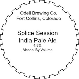 Odell Brewing Company Splice Session India Pale Ale