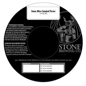 Stone Nitro Smoked Porter