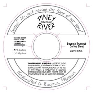 Piney River Brewing Co. Seventh Trumpet Coffee Stout
