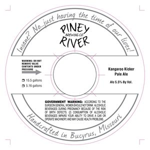Piney River Brewing Co. LLC Kangaroo Kicker