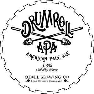 Odell Brewing Company Drumroll American Pale Ale