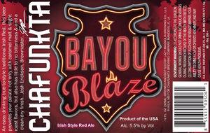 Chafunkta Brewing Company Bayou Blaze