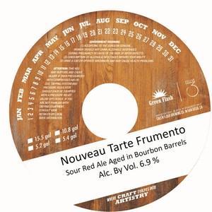 Green Flash Brewing Company Nouveau Tarte Frumento