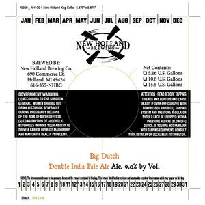 New Holland Brewing Company Big Dutch