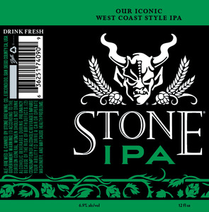 Stone Brewing Co Stone IPA