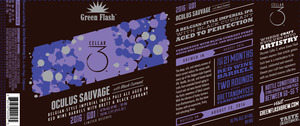 Green Flash Brewing Company Oculus Sauvage With Black Currant