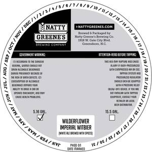 Natty Greene's Brewing Co. Wilderflower Witbier
