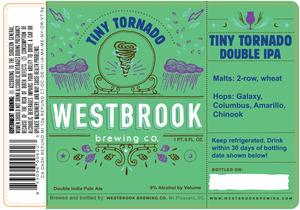 Westbrook Brewing Company Tiny Tornado Double IPA