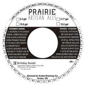 Prairie Artisan Ales Birthday Bomb!