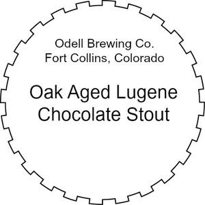 Odell Brewing Company Oak Aged Lugene Chocolate Milk Stout