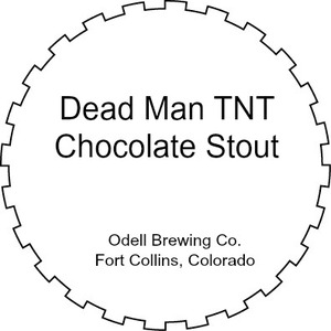 Odell Brewing Company Dead Man Tnt Chocolate Stout March 2016