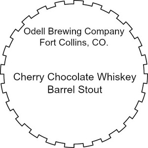Odell Brewing Company Cherry Chocolate Whiskey Barrel Stout