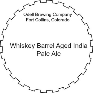 Odell Brewing Company Whiskey Barrel Aged India Pale Ale