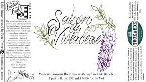 Tuckahoe Brewing Company Wisteria Blossom Brett Saison Ale