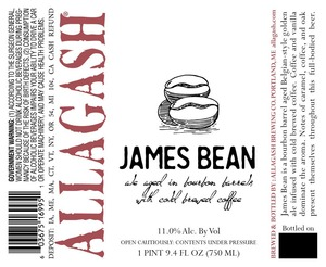 Allagash Brewing Company James Bean