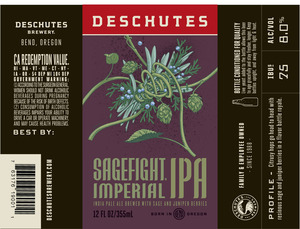 Deschutes Brewery Sagefight April 2016
