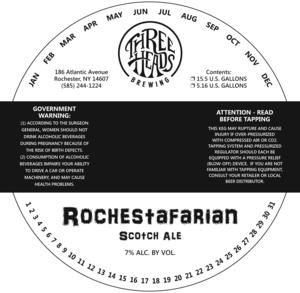 Rochestafarian Scotch Ale