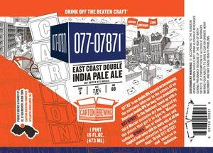 Carton Brewing Co. 077-07871