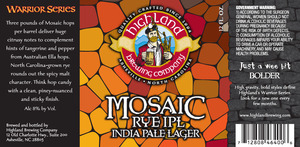 Highland Brewing Co. Mosaic