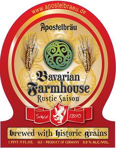 Apostelbraeu Bavarian Farmhouse Rustic Saison
