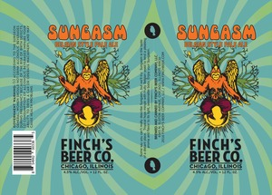 Finch's Beer Company Sungasm Belgian Style Pale Ale