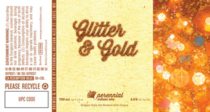 Perennial Artisan Ales Glitter And Gold