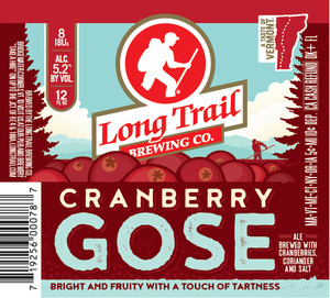Long Trail Brewing Company Cranberry Gose