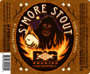 Big Muddy Brewing S'more Stout March 2016