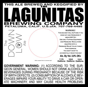 The Lagunitas Brewing Company The Down Low