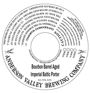 Anderson Valley Brewing Company Imperial Baltic Porter