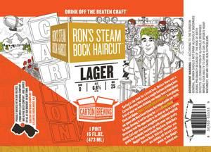 Carton Brewing Co. Ron's Steam Bock Haircut