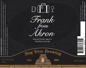 Bog Iron Brewing Frank From Akron